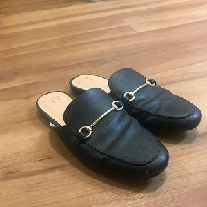 Loafer slides (no fur, FEMALE 7)